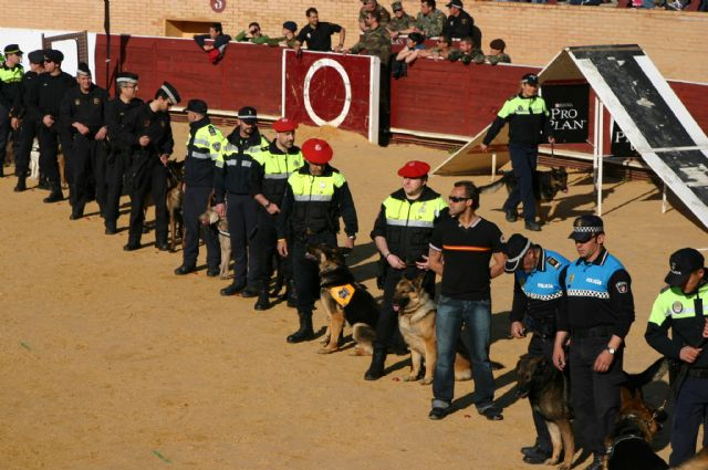 La Unidad Canina de la Policía Local de Totana (K-9) participa en las III jornadas policiales y militares de guías caninos, Foto 2