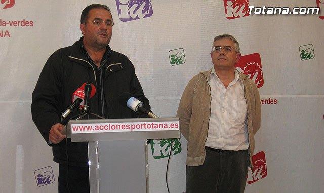 IU-Verdes inicia una campaña de bonos para que los totaneros ayuden a financiar la campaña electoral de forma transparente, Foto 2