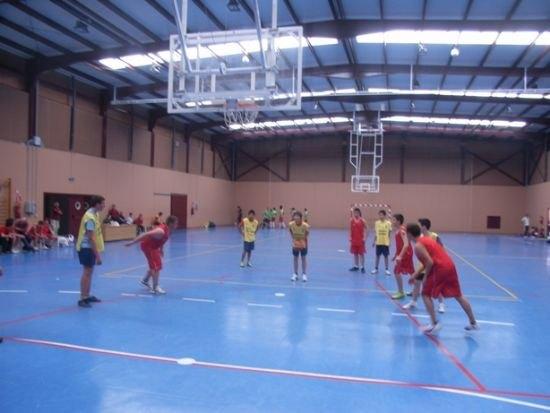 El equipo de baloncesto del IES Prado Mayor jugó los cuarto de final regionales en Murcia, Foto 2