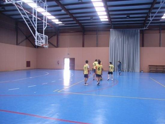 El equipo de baloncesto del IES Prado Mayor jugó los cuarto de final regionales en Murcia, Foto 3