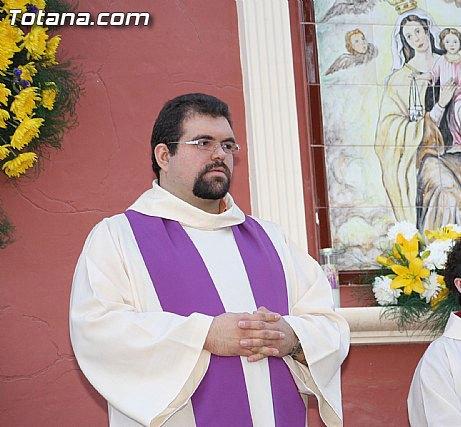 El coadjutor de la Iglesia de Santiago el Mayor de Totana, José López, pregonero de la Semana Santa de Las Torres de Cotillas, Foto 1