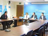 El PP regional se reúne con representantes de la Asociación de Enfermedades Raras de la Región de Murcia