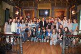 Los jóvenes franceses visitan Mazarrón