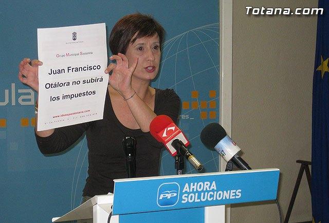 Rueda de prensa PP Totana. Valoración del Pleno de marzo, Foto 1