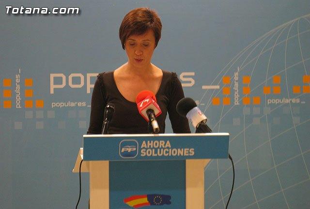 Rueda de prensa PP Totana. Valoración del Pleno de marzo, Foto 2