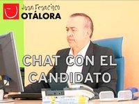 Hoy viernes, a las 19 horas, chat con Juan Francisco Otálora