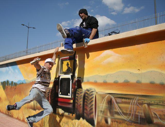 ELPOZO ALIMENTACIÓN contrata dos graffiteros profesionales para decorar sus instalaciones, Foto 3