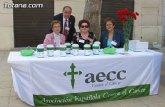 La Junta Local de la AECC recuerda que el próximo Domingo de Ramos tendrá lugar la tradicional cuestación