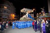 Procesión de Nuestro Padre Jesús Nazareno en Puerto de Mazarrón