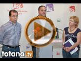 Lali Moreno y Juan José Cánovas mantuvieron una reunión con el Secretario Comarcal de Comisiones Obreras, Enrique González