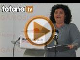 Rueda de prensa PSOE Totana. Valoración Pleno abril 2011