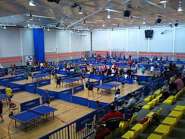 Tenis de mesa. Campeonato de España de veteranos. Buen papel de Domingo en individual y en dobles, Foto 3