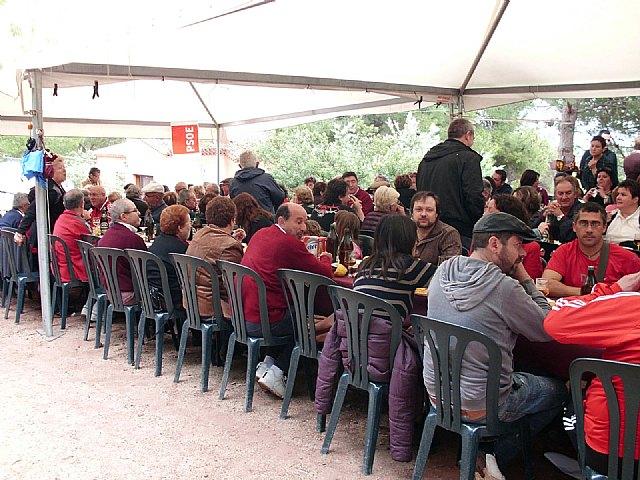 Mas de 200 militantes acuden a celebrar el Día de la Rosa del Partido Socialista de Totana, Foto 2