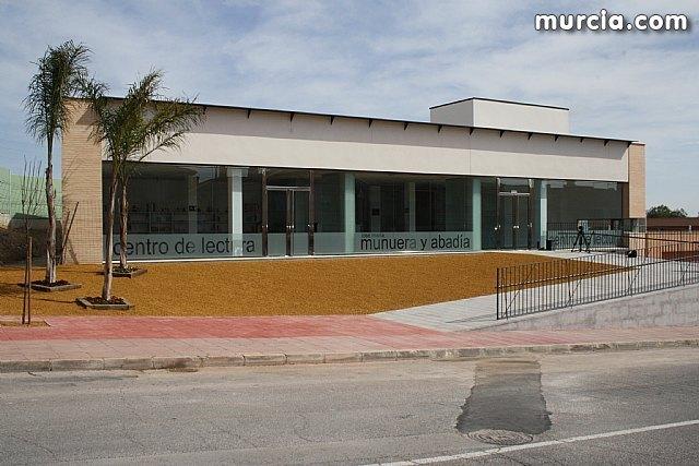 La nueva biblioteca y sala de estudio José María Munuera y Abadía ha abierto hoy al público, Foto 1