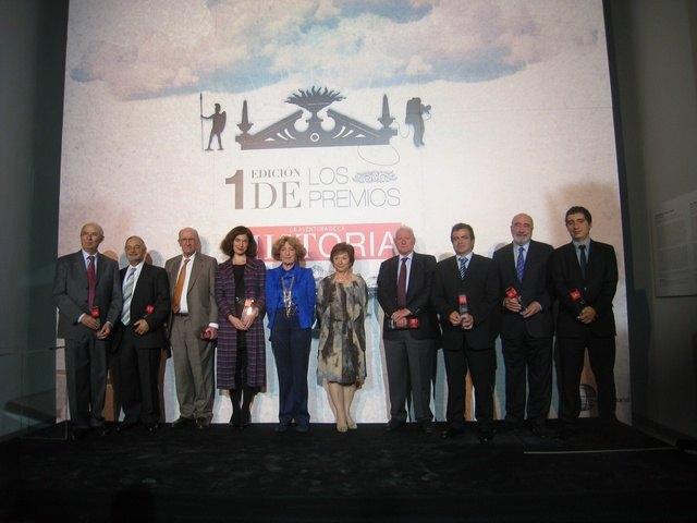 El consejero de Cultura recibe el premio ´Conservación del Patrimonio Histórico´ que concede la revista ´La Aventura de la Historia´, Foto 2