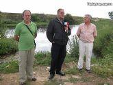 IU-Verdes pone en evidencia la nefasta depuración de aguas, demostrando la contaminación en el lecho del Río Guadalentín - 13