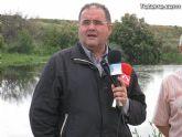 IU-Verdes pone en evidencia la nefasta depuración de aguas, demostrando la contaminación en el lecho del Río Guadalentín - 14