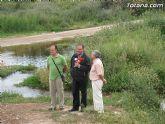 IU-Verdes pone en evidencia la nefasta depuración de aguas, demostrando la contaminación en el lecho del Río Guadalentín - 15
