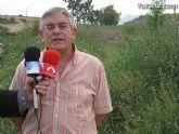 IU-Verdes pone en evidencia la nefasta depuración de aguas, demostrando la contaminación en el lecho del Río Guadalentín - 16