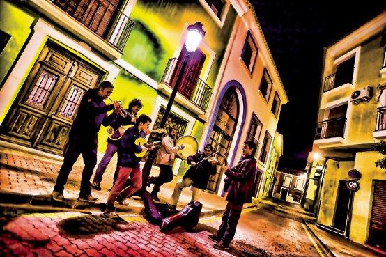 Malvariche presenta su nuevo disco en la fiesta de los mayos, en Alhama de murcia, Foto 1