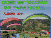 Concentraci�n de parapentes 2011