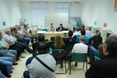 La candidata a la alcaldía por el PP se reúne con los trabajadores de la empresa municipal CEDETO