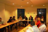 La candidatura de IU-Verdes y la Directiva de CEBAG mantuvieron una reunión para explicar y asumir propuestas del Programa Electoral - 2