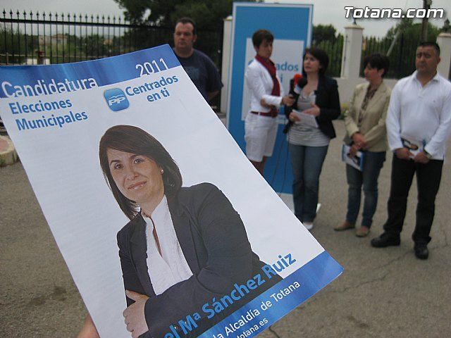 La candidata a la alcaldía por el PP asegura que todo el documento del Plan General estará aprobado a final de año, Foto 4