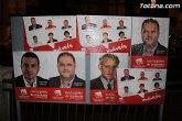 Los candidatos y candidatas de IU-Verdes recorrerán calle a calle de Totana, explicando su programa