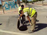 El Ayuntamiento de Alhama intensifica la desinsectaci�n del municipio y pedan�as