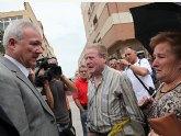 Valc�rcel pide la puesta en marcha del Plan �Lorca Solidaria� para recuperar los daños causados por el terremoto