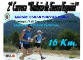 La segunda carrera Umbría de Sierra Espuña tendrá lugar el próximo domingo 19 de junio en Casas Nuevas