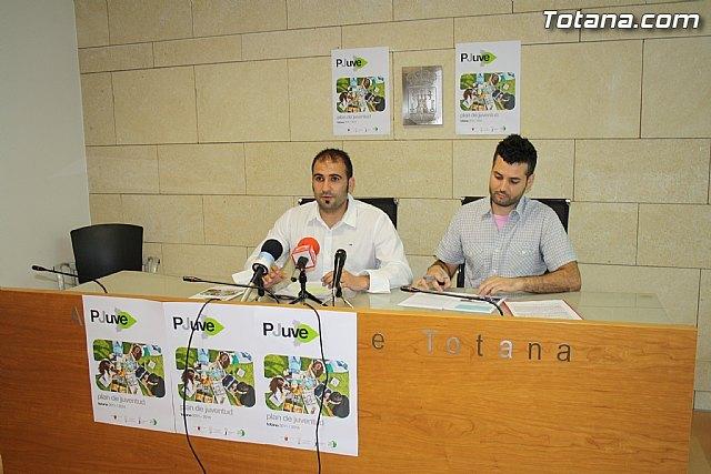 Presentan la publicación del Plan Municipal de Juventud (2011-2014), Foto 2