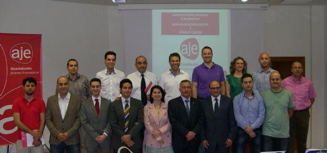 Juan David Ruiz renueva su cargo de Presidente en AJE Guadalentín, Foto 1