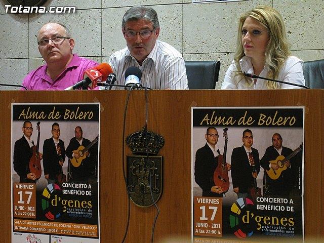 """El vienes 17 de junio se celebra el concierto de """"Alma de Bolero"""", Foto 3"""