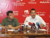 IU-V critica el descenso de las ayudas sociales de CajaMurcia por su integración en BMN