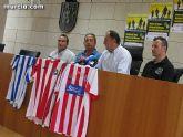 El estadio municipal Juan Cayuela acoge el próximo 9 de junio un triangular a beneficio de los damnificados de Lorca - 9