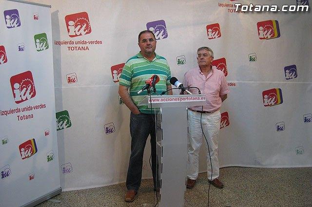 Valoración IU-verdes Totana de la campaña electoral y resultados en las elecciones de mayo 2011, Foto 1