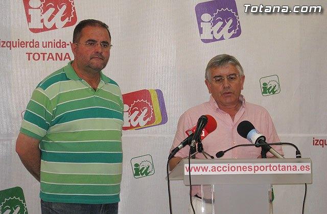 Valoración IU-verdes Totana de la campaña electoral y resultados en las elecciones de mayo 2011, Foto 2