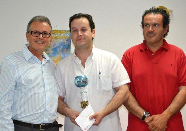 El Maestro Fide Carlos Tudela Corbalán, del C. A. Totana, brillante campeón regional de ajedrez, Foto 1