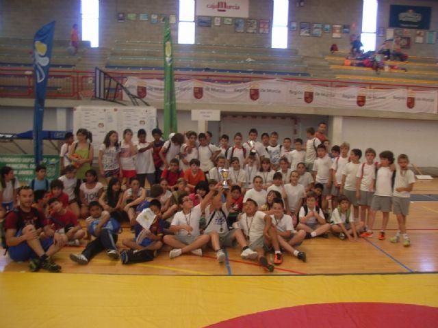 Sesenta alumnos de los colegios Reina Sofia, Tierno Galván y Santiago participaron en la final regional de Deporte Escolar de Nano Nana Práctica Grecorromana, Foto 2