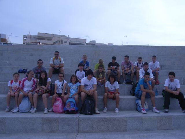 Buenos resultados de los escolares totaneros que han participado en la final regional de acuatlón de deporte escolar celebrada en Águilas, Foto 3