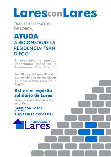 Lares CV y la Comisión Diocesana del Mayor recaudan fondos para la residencia de ancianos de Lorca, Foto 4