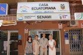 La Casa Ecuatoriana en Lorca abre sus puertas oficialmente para ofrecer todos los servicios de Senami a los compatriotas de la zona