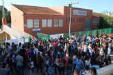 Los alumnos de la sede de Lorca inician con normalidad las jornadas de ex�menes de la selectividad en el IES