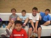El equipo benjamín de baloncesto 3x3 del colegio La Milagrosa participó en las semifinales regionales de Deporte Escolar