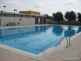 La piscina municipal del Complejo Deportivo Valle del Guadalentín del Paretón abre sus puertas hoy