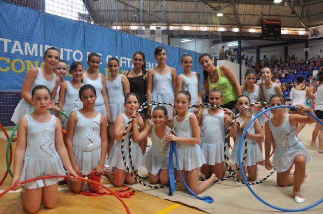 Cartagena la escuela municipal de gimnasia r tmica da for Piscina cubierta alcantarilla