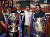 La Federación de Peñas Barcelonistas de la Región de Murcia y el FC Barcelona con los afectados por el terremoto de Lorca