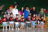 Los alumnos del Centro de Atención a la Infancia Pepita López Gandía clausuran el curso 2010/2011